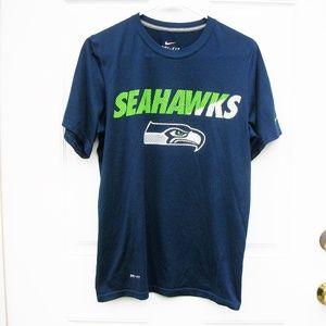 NIKE DRI FIT Seattle Seahawks T Shirt SZ S